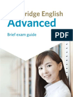 Cambridge English Advanced FOR ALL PEOPLE