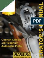 Coonan 357 Mag Owners Manual