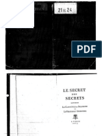 2928191 Le Secret Des Secrets