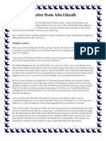 A letter from Abu Ghraib