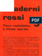 Quaderni rossi 3. Piano capitalistici