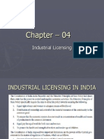 Industrial Licensing