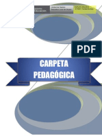Carpeta Pedagógica 2013 - I.E. N° 80911 Canibamba Bajo - Otuzco