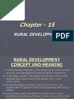 Chapter - 15 Rural Devlopment