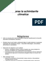 2.Adaptarea La Schimbarile Climatice