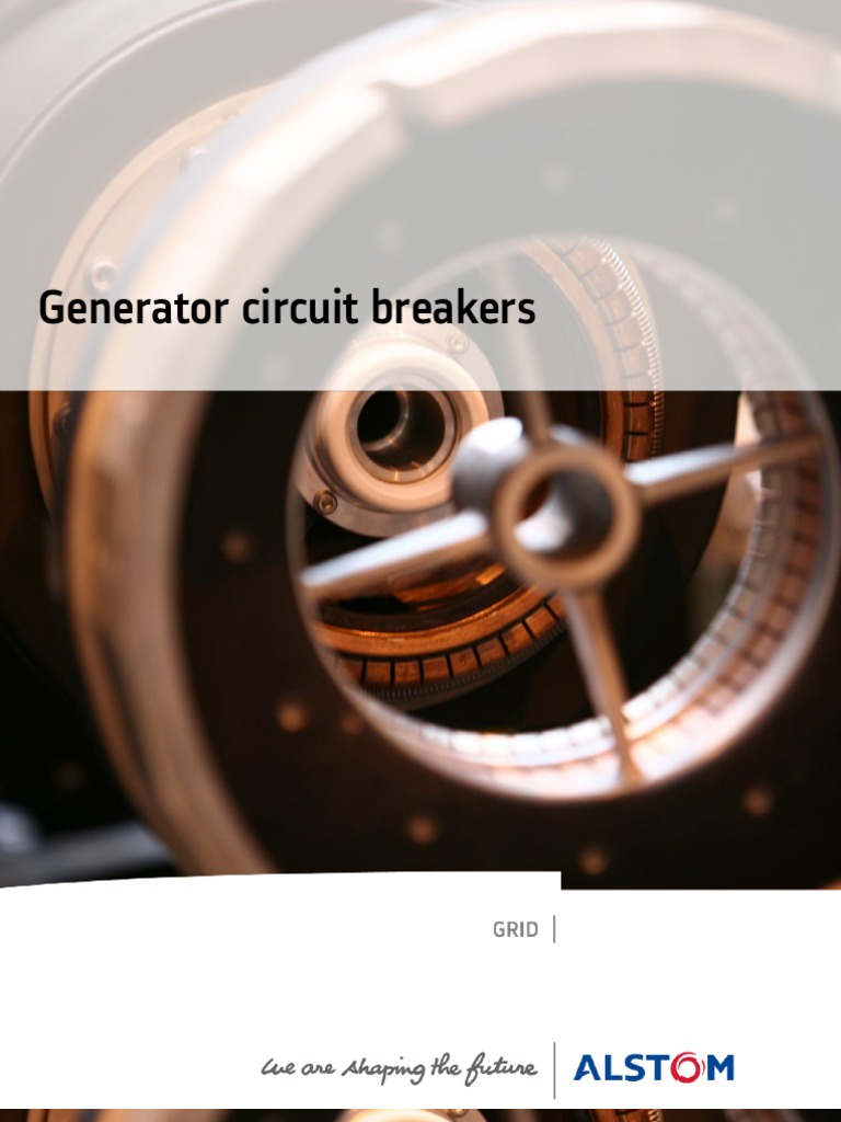 Generator Circuit Breakers Brochure Gb Power Station Transformer Gcb Abb