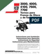 Manual de Operaciones Ammco 3000-4000- 4100