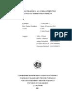 Laporan Praktikum Listrik Rangkaian Kapasitif dan Induktif Kelompok 2