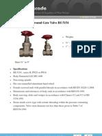 Gunmetal PN25 PN16 Gate Valve BS5154 000