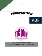 La Prospection Cours