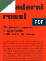 Quaderni Rossi 6. Movimento Operaio [Unlocked by Www.freemypdf.com]
