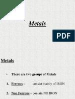 Steel Metals production process