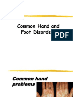 Common Hand and Foot Disorders