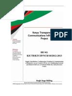 PKI Centre Bidding Document