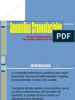 ANOMALIAS CRANEOFACIALES