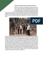 Cambomann Report 2013