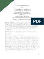 U.S. Business Cycle Math Quantification