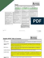 APQP Workbook