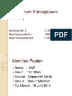 Poster Mini Moluskum Kontagiosum (Dionisus Giri, Dewi Apraha, Dewi Yulistiawati)