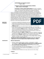 FT Instructor Criminal Justice-Latent Evidence_06!17!13