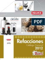 Catalogo Refacciones