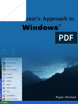A Beginner's Approach to Windows | Operating System | File System