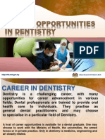 Career Opportunities in Dentistry Scribd