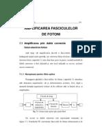 Amplificarea Fasciculeleor de Fotoni Amplificatoare fotonice Amplificrea radiatiei luminoase Amplificatoare optice