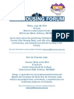 6-28-13 Fair Housing Forum
