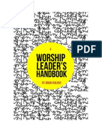 A Worship Leader s Handbook 7f24