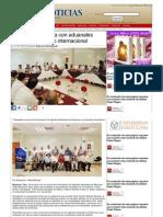17-06-2013 Pepe Elías acuerda con aduanales proyectar comercio internacional