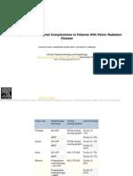 Management of Intestinal complications