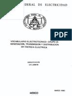 L0000-05 Vocabulario electrotécnico