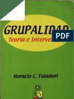 Foladori, Horario - Grupalidad. Teoría e intervención.pdf