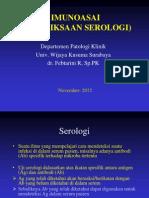 Tes Serologi Dr Febtarini, Sp.pk
