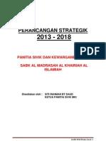 Pelan Strategik PSK MKI 2013 hingga 2018