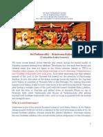 SRI PADMAVATHI SRINIVAASA KALYAANAM - The Divine Marriage (objective - Glory & Significance)