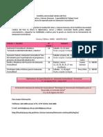 Información  cursos y talleres ASC.