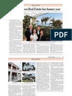 2010 Dale Sorensen Real Estate has banner year