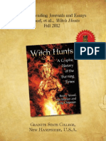 WITCH HUNTS Graphic Novel Granite College Students Essays