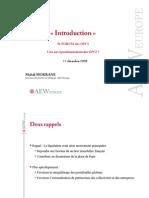 Introduction à l'OPCI