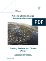 National Climate Change Adaptation Framework