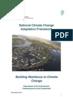 National Climate Change Adaptation Framework