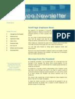 Empl Web Newsletter