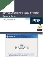 Instalacion de Linux Centos