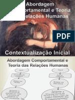 1-Teoria das Relações Humanas