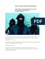 Saudi's Funding Jihad