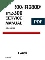 Canon IR2200 2800 3300parts&service