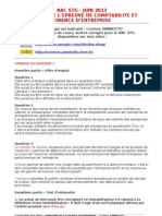 Corrige Bac Stg 2013 CFE