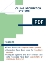 Controlling Information Systems